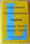 Langenscheidt's Pocket Dictionary of the English and German Languages