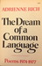 The Dream of a Common Language: Poems, 1974-1977