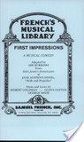 First Impressions: A Musical Comedy