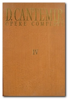 Opere Complete by Dimitrie Cantemir