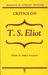 Critics on T. S. Eliot (Readings in Literary Criticism, 14)