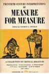 Measure for Measure: A Collection of Critical Essays (20th Cent. Interpretations)