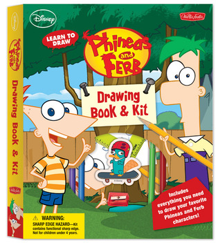 Learn to Draw Disney's Phineas and Ferb: Drawing Book & Kit