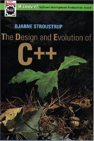 The Design and Evolution of C++ by Bjarne Stroustrup