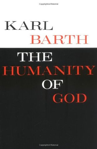The Humanity of God by Karl Barth