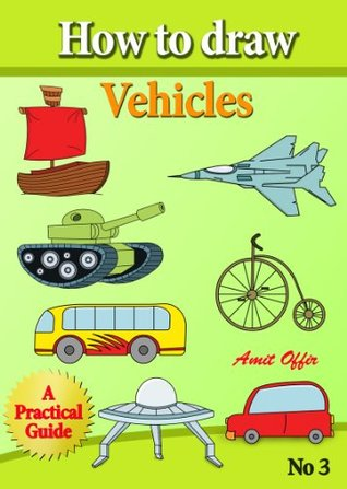How to Draw Vehicles (how to draw cartoon characters)