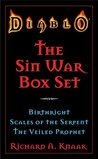 Diablo: The Sin War Box Set: Birthright, Scales of the Serpent, and The Veiled Prophet