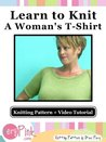 Learn to Knit a Woman's T-Shirt