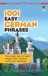 1001 Easy German Phrases (Dover Language Guides German)
