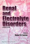 Renal and Electrolyte Disorders (Renal and Electrolyte Disorders (Schrier))