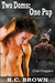 Two Doms: One Pup (Club Floggers, #7)