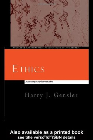 Ethics: A Contemporary Introduction