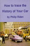 How to Trace the History of Your Car