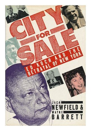 City for Sale by Jack Newfield