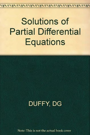 Solutions of Partial Differential Equations