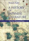 A History of Japanese Literature: The First Thousand Years
