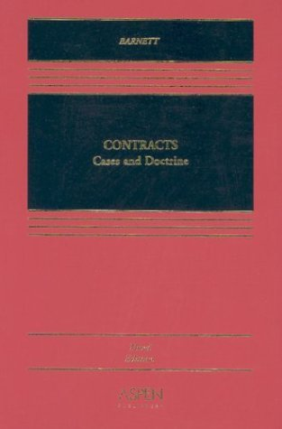 Contracts: Cases and Doctrine (Aspen Casebook Series)