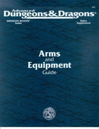 Dungeon Master's Guide Rules Supplement: Arms and Equipment Guide (Advanced Dungeons & Dragons 2nd Edition, Stock #2123)