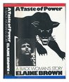 A Taste of Power - A Black Woman's Story (Black Panthers)