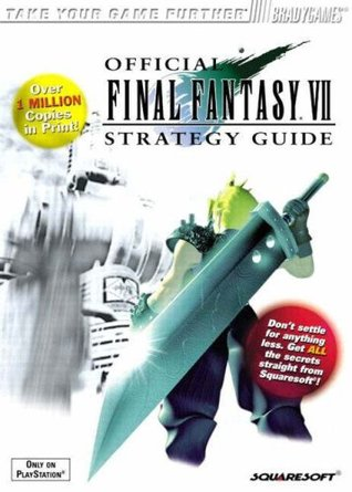 Official Final Fantasy VII Strategy Guide by David Cassady