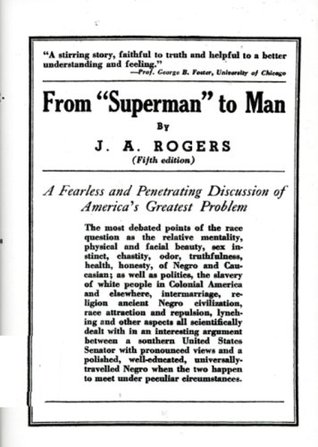 From Superman to Man by J.A. Rogers