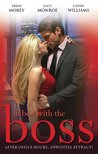 In Bed With The Boss, Volume 3: The Boss's Christmas Baby/What The Rancher Wants.../Taken By Her Greek Boss