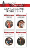 Harlequin Presents November 2013 - Bundle 2 of 2: A Scandal in the Headlines\Never Gamble with a Caffarelli\Secrets of a Powerful Man\A Touch of Temptation