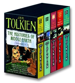 The Histories of Middle Earth, Volumes 1-5 (The History of Middle-Earth #1-5)