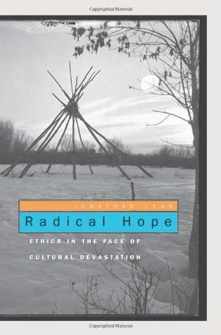 Radical Hope by Jonathan Lear