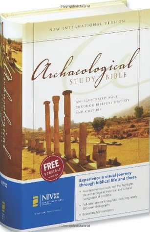 NIV, Archaeological Study Bible, Hardcover by Anonymous