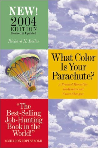 A guide to career path in what color is your parachute a book by richard n bolles
