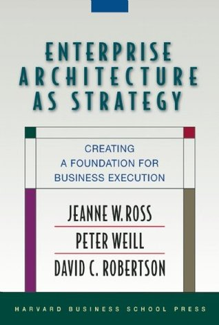 Enterprise Architecture As Strategy by Jeanne W. Ross