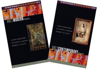 The Norton Anthology of Modern and Contemporary Poetry by Jahan Ramazani