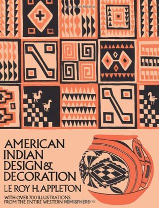 american indian design and decoration by le roy h
