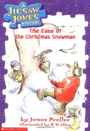 The Case of the Christmas Snowman by James Preller