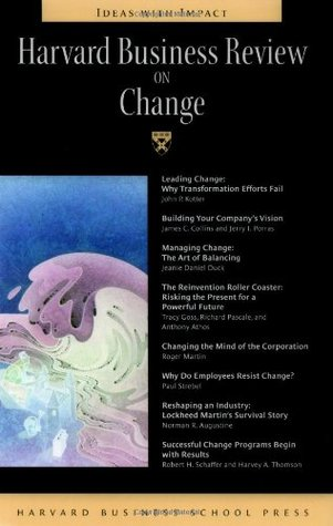 Harvard Business Review on Change by Richard Pascale