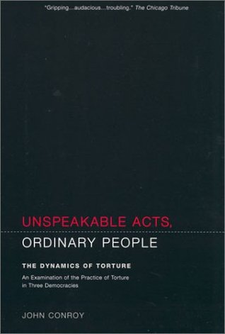 Unspeakable Acts, Ordinary People by John Conroy