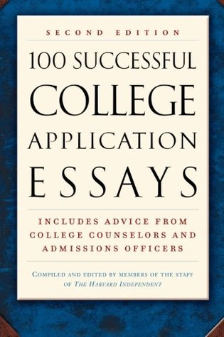 100 best college application essays