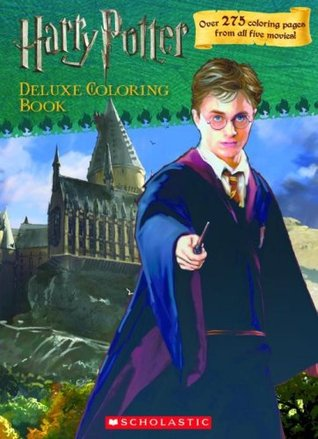 Harry Potter Deluxe Coloring Book (Harry Potter Movie Tie-In)