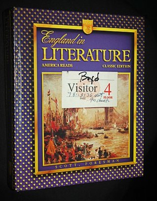 England in Literature: America Reads (Classic Edition)