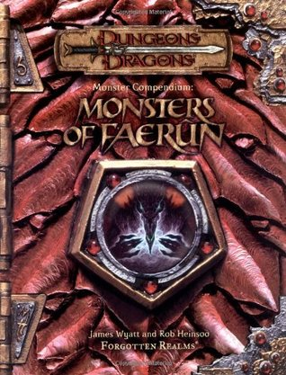 Monster Compendium: Monsters of Faerun (Dungeon & Dragons d20 3.5 Fantasy Roleplaying)