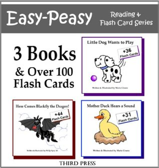 Set of 3 Sight Word Books in 1! - 3 Easy Readers that are over 90% Sight Words! (Easy-Peasy Reading & Flash Card Series)