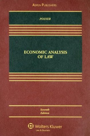 "economic analysis of law Washington university law review volume 1974|issue 2 1974 review of ""economic analysis of law,"" by richard a posner donald h j hermann follow this and."