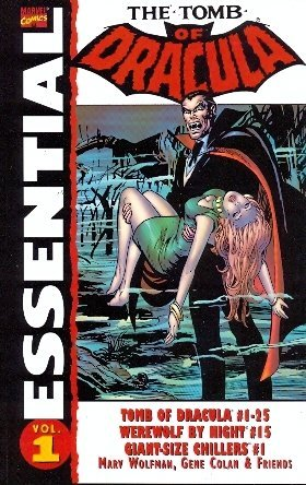 Essential Tomb of Dracula, Vol. 1 by Marv Wolfman