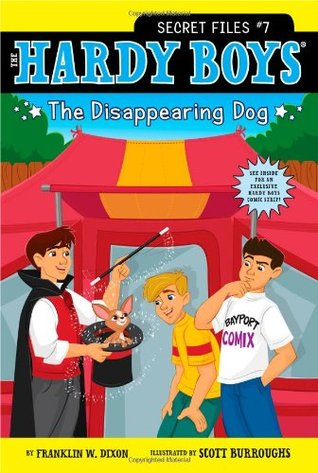 The Disappearing Dog (The Hardy Boys: Secret Files #7)