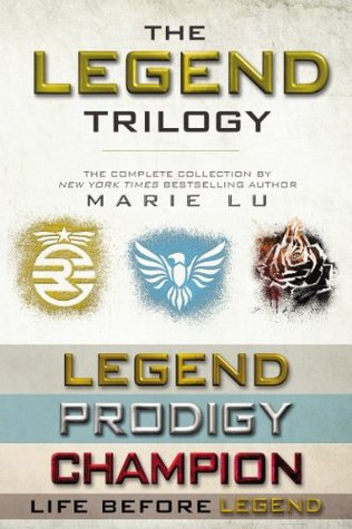 Mini review of the Legend trilogy by Marie Lu