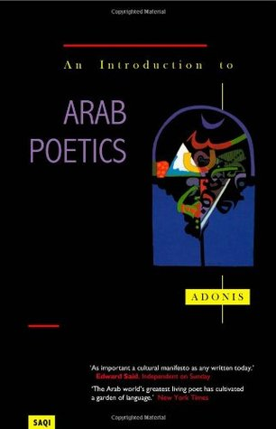 An Introduction To Arab Poetics by Adonis