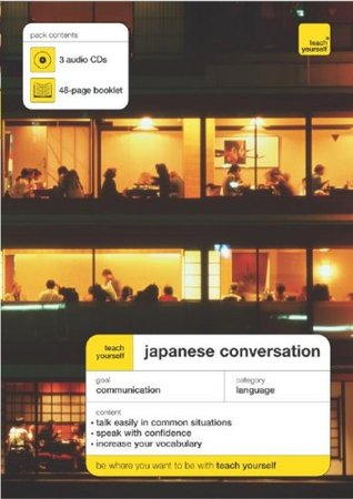 Teach Yourself Japanese Conversation (3CDs + Guide) by Helen Gilhooly