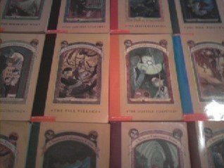 A Series of Unfortunate Events Set books #1-9 by Lemony Snicket