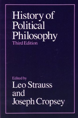 History of Political Philosophy by Leo Strauss